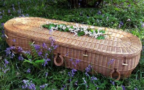 European Willow Woven Coffins